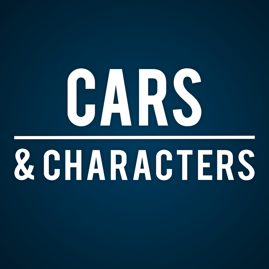 CARS & CHARACTERS logo